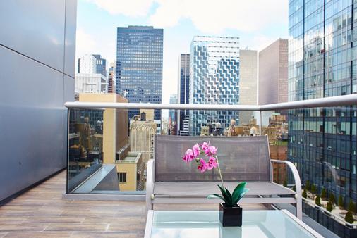 纽约酒店 - 纽约 - 阳台