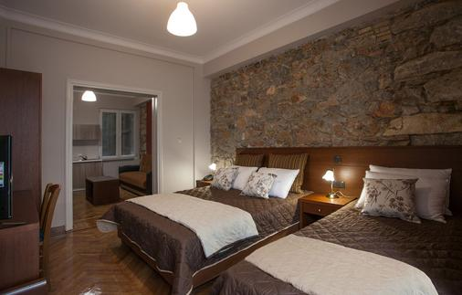 安博夏套房公寓酒店 - 雅典 - 睡房