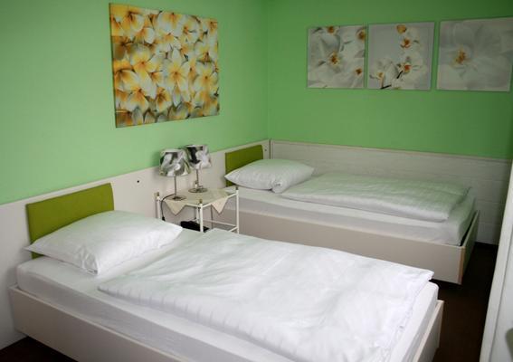 布鲁彻维斯酒店 - 萨尔布吕肯 - 睡房