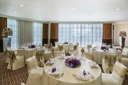 察殿曼谷沙吞公寓酒店 - 曼谷 - 宴会厅
