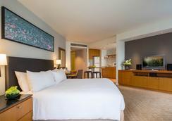 察殿曼谷沙吞公寓酒店 - 曼谷 - 睡房