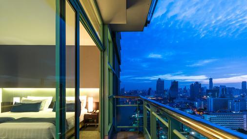 橡树河畔曼谷酒店 - 曼谷 - 阳台