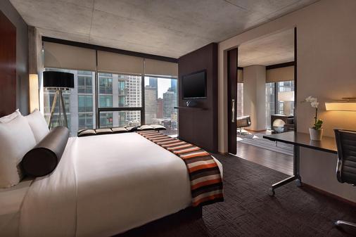 戴纳温泉酒店 - 芝加哥 - 睡房