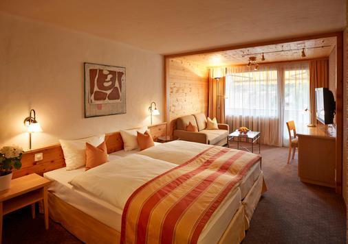 格施塔德瑞士优质酒店 - 格施塔德 - 睡房