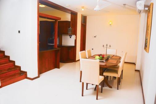 独特大厦豪华精品套房酒店 - 科伦坡 - 餐厅