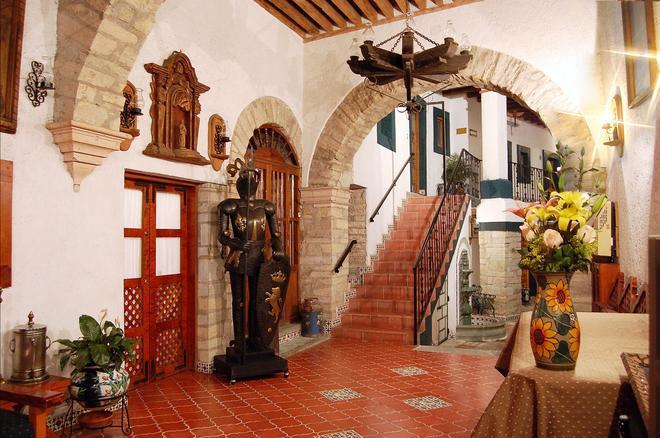 梅森德罗萨里奥酒店 - 瓜纳华托 - 大厅