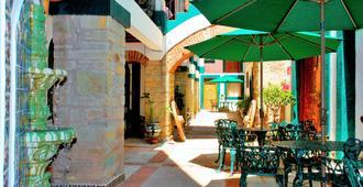 梅森德罗萨里奥酒店 - 瓜纳华托 - 露台