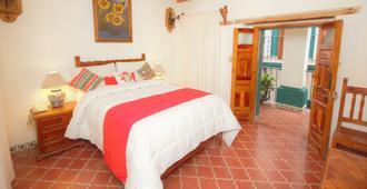 梅森德罗萨里奥酒店 - 瓜纳华托 - 睡房