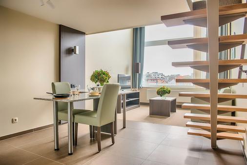 阿拉斯商务公寓式店 - 安特卫普 - 客厅
