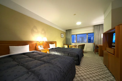 都市中心酒店 - 东京 - 睡房