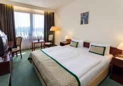 匈牙利城市中心酒店 - 布达佩斯 - 睡房