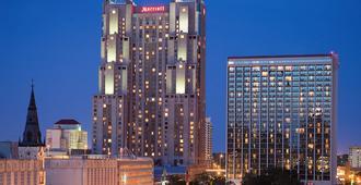 圣安东尼奥河流中心万豪酒店 - 圣安东尼奥 - 建筑
