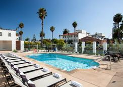 徒步旅行者旅馆 - 圣巴巴拉 - 游泳池