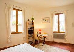 珀舍尔一室公寓酒店 - 普罗旺斯艾克斯 - 睡房