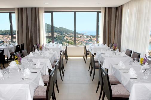 亚德里亚酒店 - 杜布罗夫尼克 - 餐馆