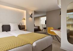 奥特尔旅行埃菲尔酒店 - 巴黎 - 睡房