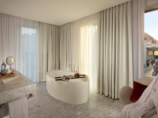德累斯顿城堡特里夫酒店 - 德累斯顿 - 浴室