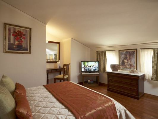 维斯奥广场独家公寓 - 罗希姆诺 - 睡房
