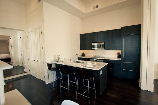 梅尔罗斯酒店及套房 - 新奥尔良 - 厨房