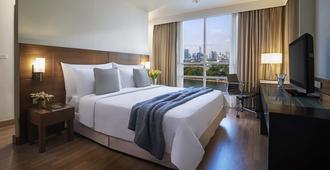 沙马阿索克湖景公寓式酒店 - 曼谷 - 睡房