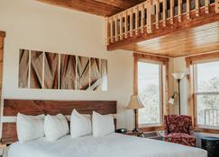 石峡谷旅馆 - 特洛匹克 - 睡房