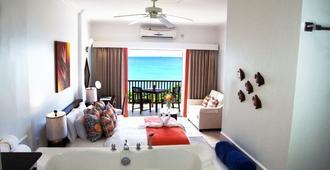 葫芦湾度假村及水疗中心 - 仅限成人度假酒店 - 格罗斯岛 - 睡房