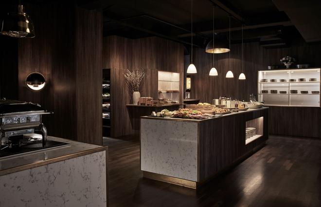 奥斯库特公寓式酒店 - 哥本哈根 - 自助餐