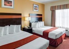 Quality Suites Intercontinental Airport West - 休斯顿 - 睡房