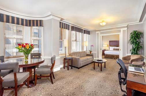 汉德利联合广场酒店 - 旧金山 - 客厅
