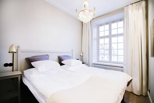 空斯特拉德花园酒店 - 斯德哥尔摩 - 睡房