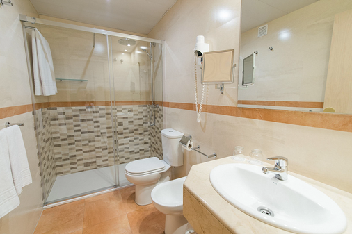 日光中心酒店 - 巴塞罗那 - 浴室