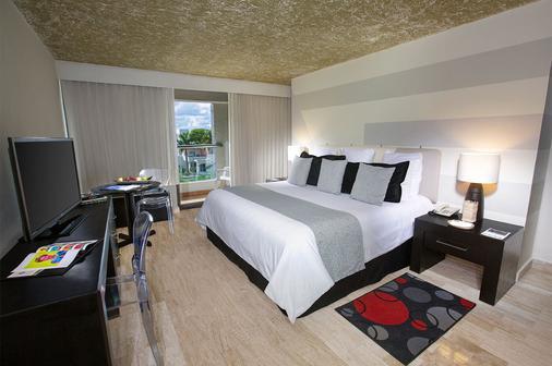 噢!城市绿洲酒店-限成人入住 - 坎昆 - 睡房