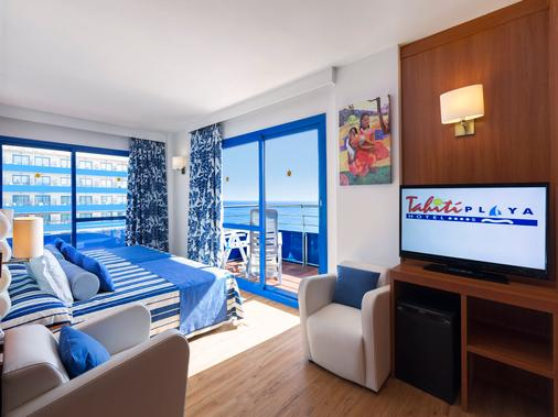 塔希提普拉亚酒店 - 圣苏珊娜 - 睡房