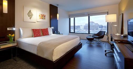 亚历山大,一间温馨的酒店 - 印第安纳波利斯 - 睡房