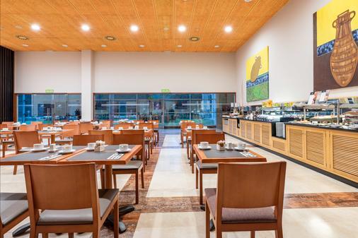 欧洲之星圣拉萨罗酒店 - 圣地亚哥-德孔波斯特拉 - 餐厅