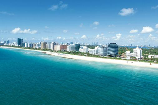 迈阿密海滩riu广场酒店 - 迈阿密海滩 - 海滩