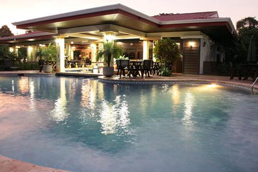 火山旅馆及温泉 - 福图纳 - 游泳池