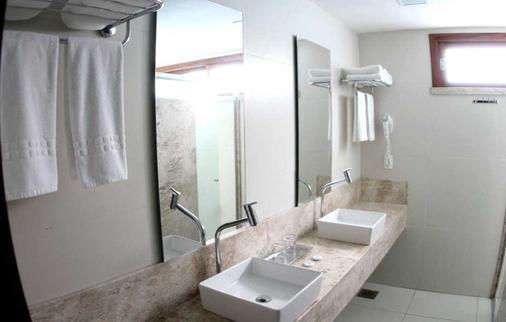 阿姆任安玛酒店 - 福塔莱萨 - 浴室