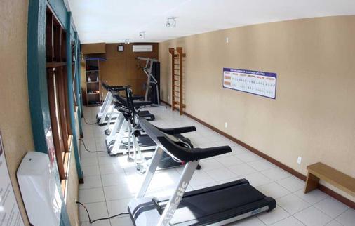 阿姆任安玛酒店 - 福塔莱萨 - 健身房