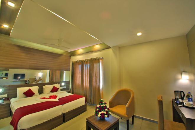 萨斯大厦酒店 - 科钦 - 睡房