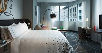 蒙特利尔市中心万丽酒店 - 蒙特利尔 - 睡房