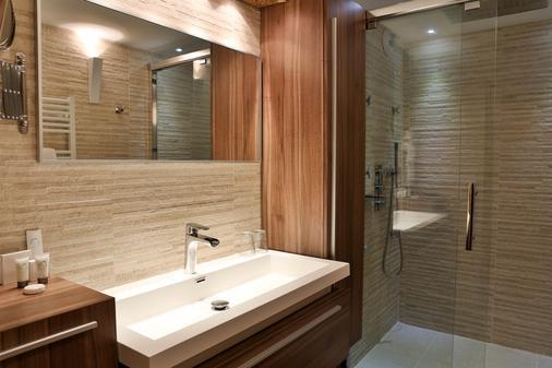 蒙大纳酒店 - 夏蒙尼-勃朗峰 - 浴室