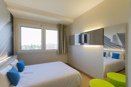 米兰赛尼斯加里波第酒店 - 米兰 - 睡房