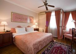 纱丽科纳酒店 - 伊斯坦布尔 - 睡房