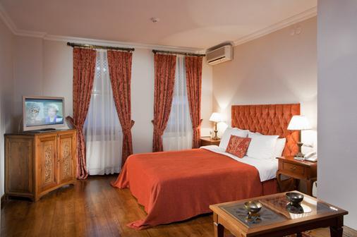 萨里科纳克酒店 - 伊斯坦布尔 - 睡房