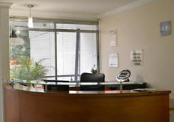 卡萨门廊酒店 - Medellin - 柜台