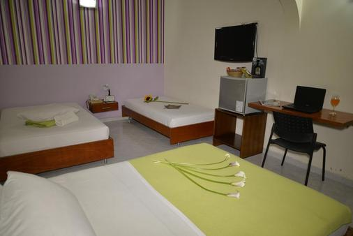 卡萨波尔提克酒店 - 麦德林 - 睡房