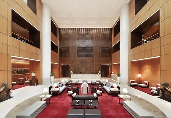 新加坡万豪酒店 - 新加坡 - 休息厅