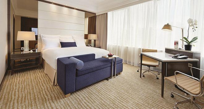 新加坡万豪酒店 - 新加坡 - 睡房