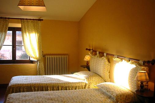拉罗通达酒店 - 锡耶纳 - 睡房